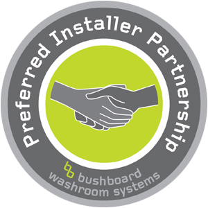 Bushboard Preferred Installer Partnership Logo