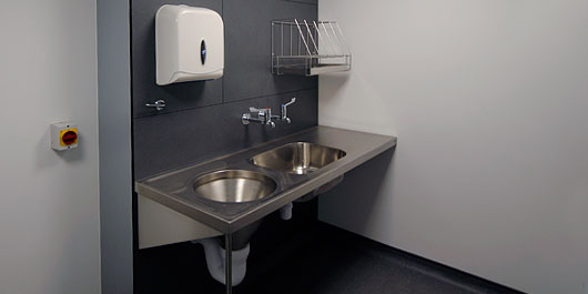 Shire Integrated Systems Healthcare Washroom Installations